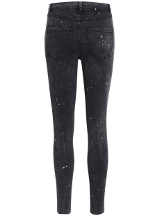 vijunas rw 7/8 spot jeans 14043743 vila jeans grey denim