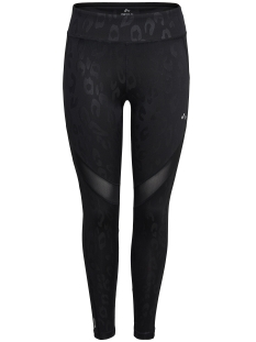 Only Play Sport broek onpSHEILA AOP TRAINING TIGHTS 15135558 Black/BLACK