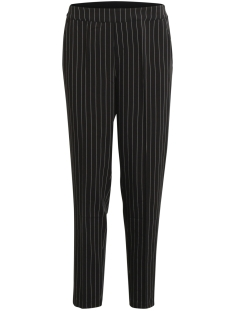 Object Broek OBJCECILIE MW STRIPED 7/8 PANT A 23026929 Black/WHITE PINS