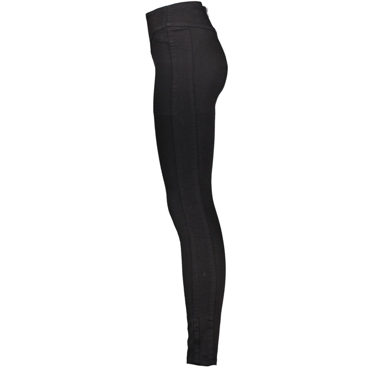vmhot supreme hw slim pants aw 10183247 vero moda broek black