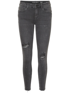 Noisy may Jeans NMLUCY NW S.S PAINT SPLASH JEANS 8 27000902 Dark Grey Denim