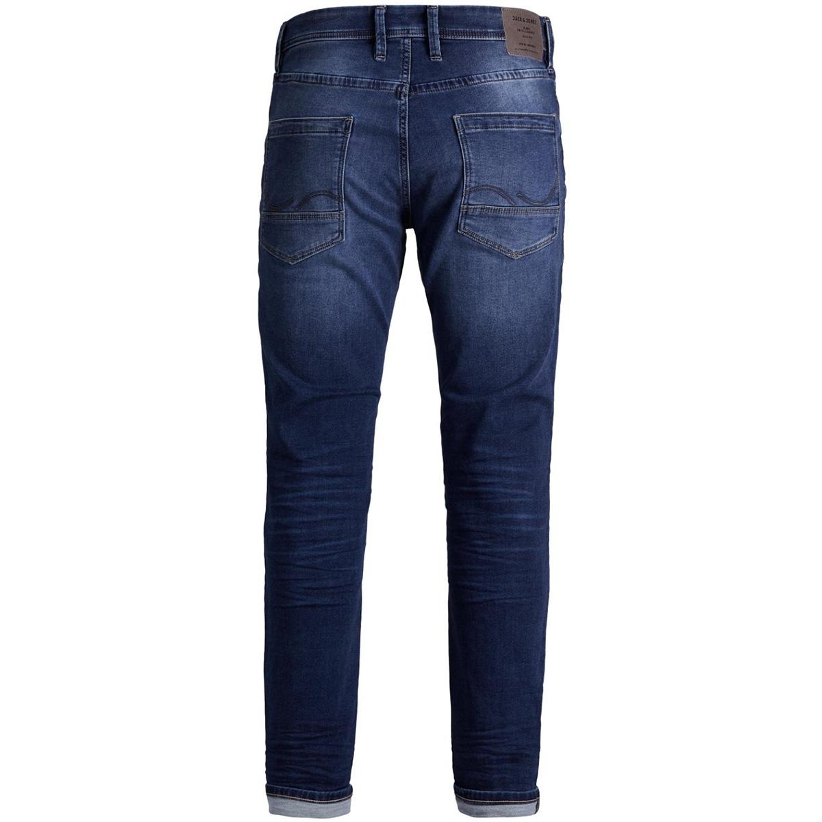jjitim jjleon ge 382 indigo knit noos 12129718 jack & jones jeans blue denim