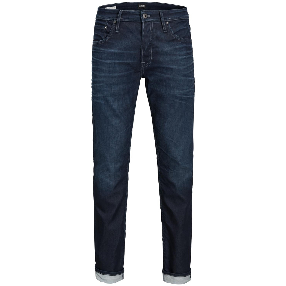 jjimike jjorg jos 097 id.k noos 12126066 jack & jones jeans blue denim