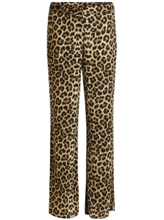 Vila Broek VITABENE PANTS/RX 14048120 Black/ANIMAL