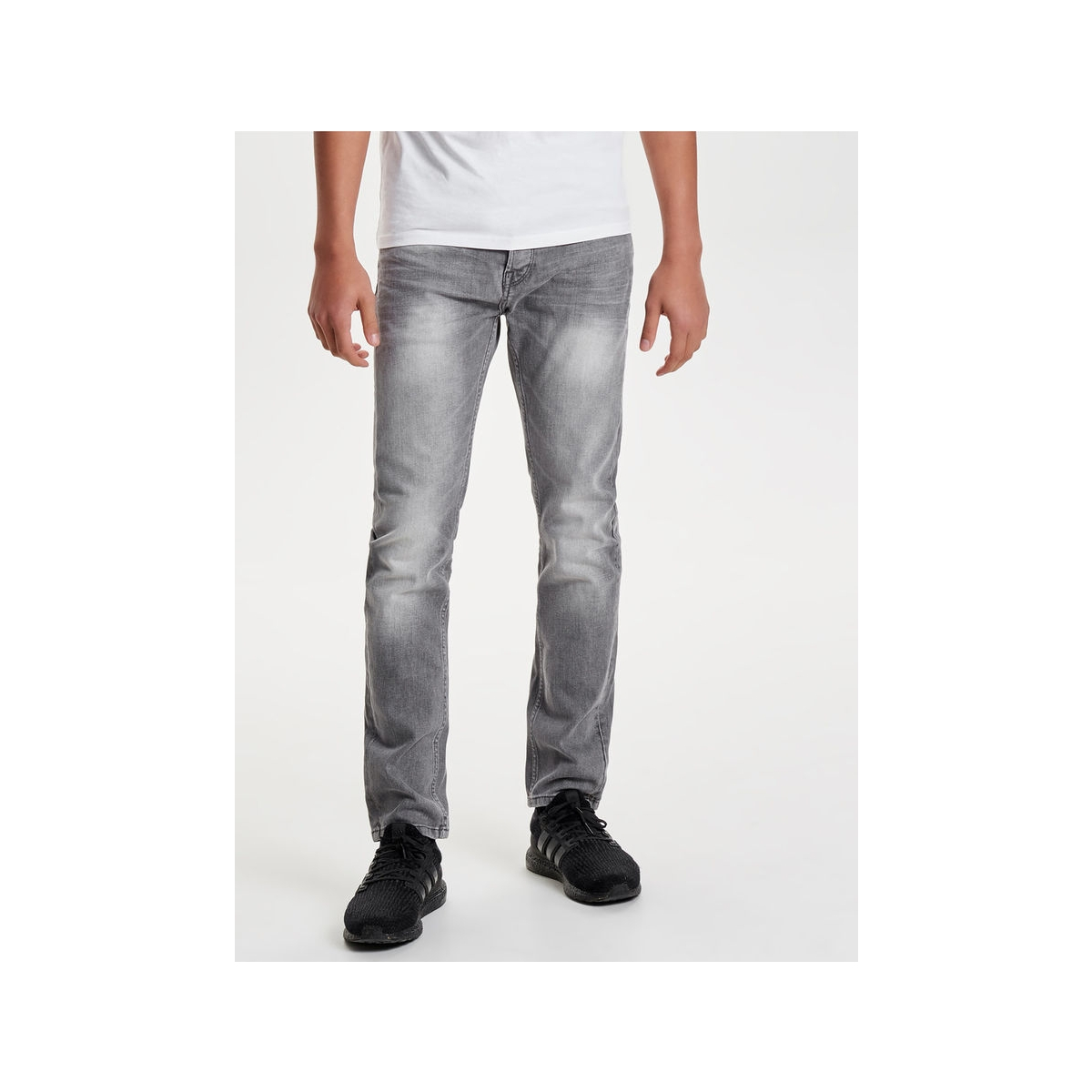 onsloom grey dcc 8532 noos 22008532 only & sons jeans grey denim