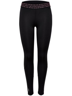 onpvineda training tights prs 15139521 only play sport broek black/ lipstick