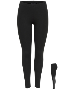 onpleslie jersey leggings prs 15139500 only play sport broek black/tornado &