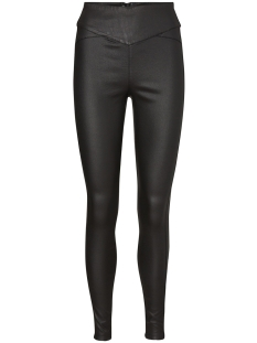 Vero Moda Broek VMSUPREME HW SUPER SLIM COATED PANT 10192084 Black