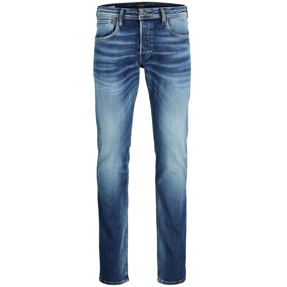 jjiglenn jjoriginal jos 107 50sps 12131784 jack & jones jeans blue denim