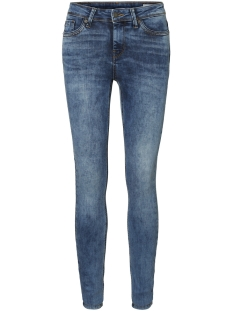 Vero Moda Jeans VMSEVEN NW SS PIPING JEANS AM691 NOOS 10191332 Medium Blue Denim