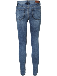 vmseven nw ss piping jeans am691 noos 10191332 vero moda jeans medium blue denim