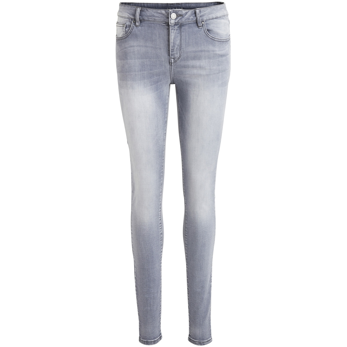 vicommit rw 5p hk0101 grey-noos 14045760 vila jeans grey denim
