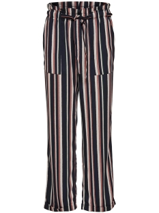 Jacqueline de Yong Broek JDYANNELINE BELT PANT PNT 15147765 Burlwood Stripes/Mona
