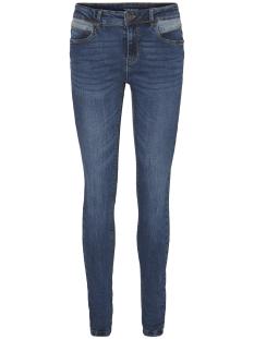 Vero Moda Jeans VMSEVEN NW SLIM CONTRAST JEANS 10188248 Dark blue denim