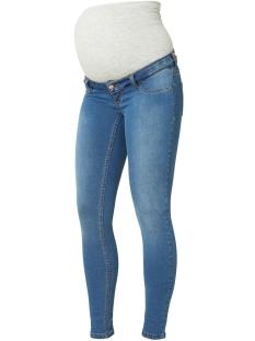 Mama-Licious Positie broek MLELLA SKINNY BLUE JEANS 20006846 Blue Denim