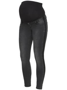 mlriga slim contrast jeans 20008064 mama-licious positie broek black denim