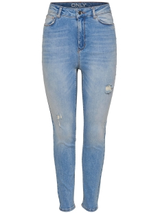 Only Jeans onlJAGGER1 HW SKIN ANKLE JEANS BA46 15150852 Light Blue Denim