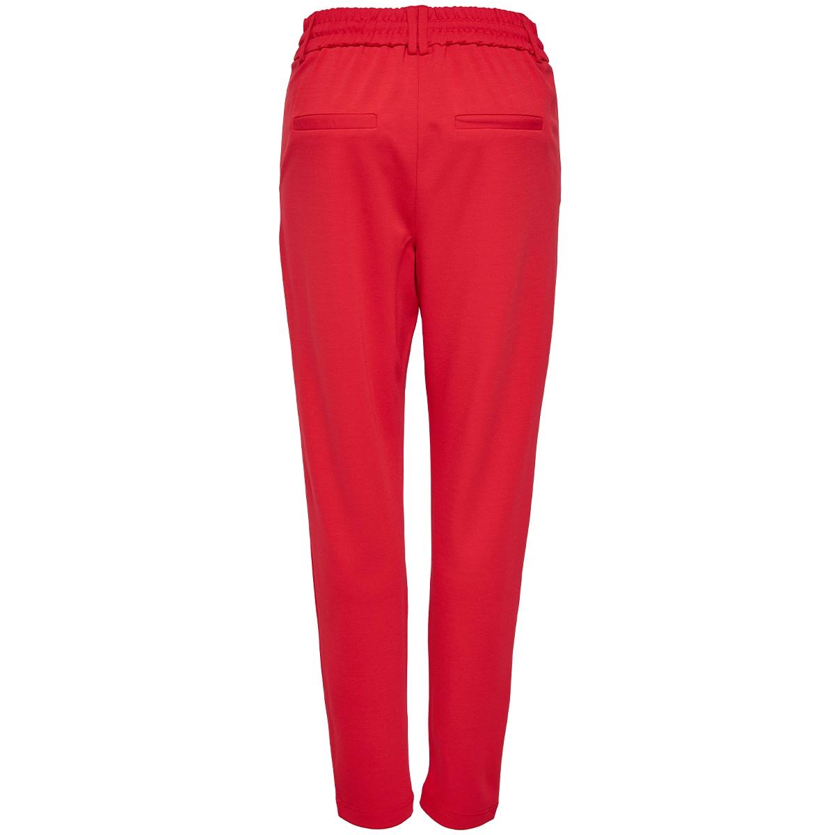 onlpoptrash easy colour pant pnt noos 15115847 only broek flame scarlet