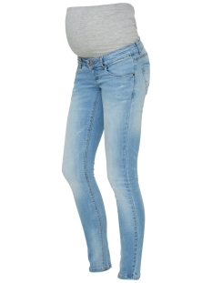 Mama-Licious Positie broek MLBIRDIE NEW SLIM JEANS S-NOOS 20008072 Light Blue Denim