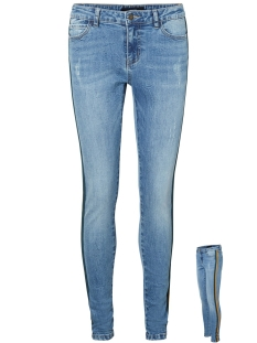 Vero Moda Jeans VMSEVEN MR SLIM TAPE JEANS 10202020 Medium Blue Den/TAPE BAYBE