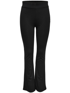 Only Broek onlBONNIE FLAIRED PANT JRS 15153585 Black