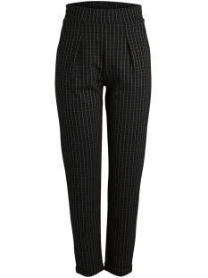 Pieces Broek PCDARIA PANTS BOX D2D 17090955 Black/THIN CHECK