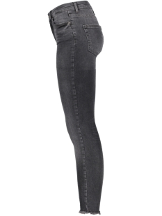 Pieces Jeans PCFIVE DELLY B227 MW S 17087092 Light Grey Denim