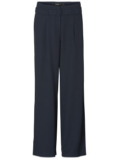 Vero Moda Broek VMEMMY SELMA HW WIDE PANT 10194904 Night Sky