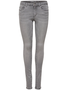 Only Jeans onlROYAL DELUXE REG  SK JEAN PIM111 15146782 Light Grey Denim