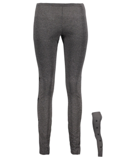 Only Legging onlSTAR LEGGINGS JRS 15165921 Dark Grey Melang/BLACK STAR