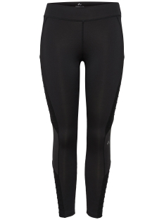 Only Play Sport broek onpSALLY SHINY 7/8  LOW TRAINING  THIGHTS 15144417 Black