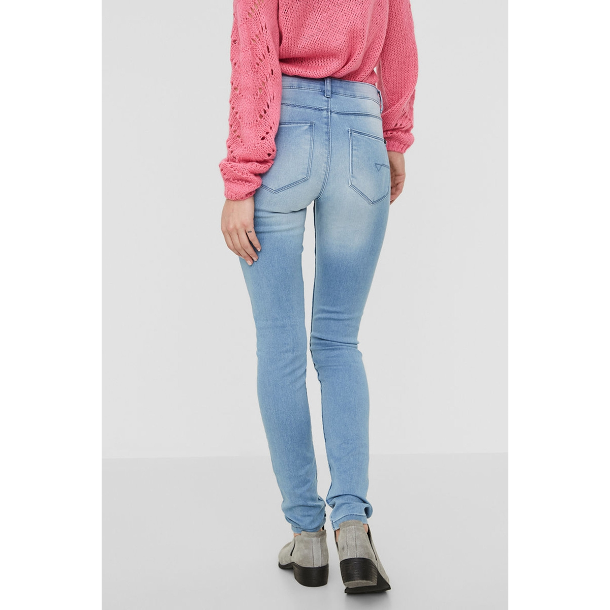 nmextreme lucy nw soft jeans vi101 noos 27001920 noisy may jeans light blue denim