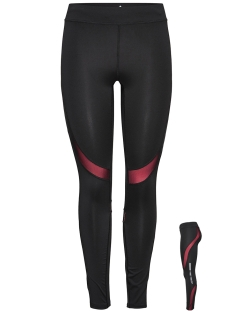 Only Play Sport broek onpSOFI RUN TIGHTS 15145595 Black/LIPSTICK P