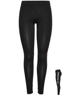 Only Play Sport broek onpADVENTURE JERSEY LEGGINGS 15144342 Black Print