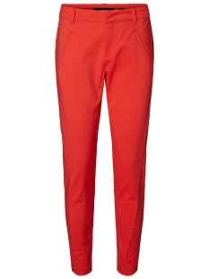 Vero Moda Broek VMVICTORIA NW ANTIFIT ANKLE PANTS N 10180484 Poppy Red