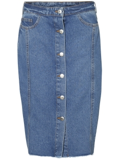 Noisy may Rok NMBE BLAIR HW BUTTON SKIRT 2 27001952 Light Blue Denim