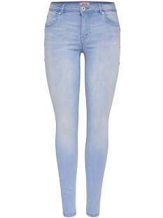 Only Jeans onlALLAN REG SK PUSH UP JEA SOOD114 15155770 Light Blue Denim