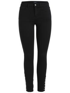 Pieces Jeans PCFIVE BETTYSOFT MW SKN ANK BT JEAN 17087107 Black