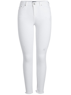 Pieces Jeans PCFIVE DELLY B300 MW SKN CR JNS BWH NOOS 17080656 Bright White