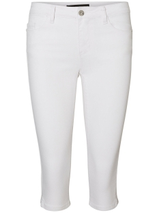 Vero Moda Jeans VMHOT SEVEN NW DNM SLIT KNICKER MIX NOOS 10193077 Bright White