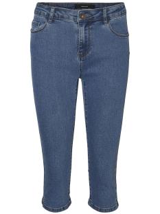 Vero Moda Jeans VMHOT SEVEN NW DNM SLIT KNICKER MIX 10193077 Medium Blue Denim