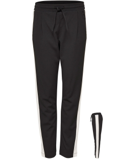 Jacqueline de Yong Broek JDYINA PANT JRS EXP 15161737 Black / Cloud Dancer