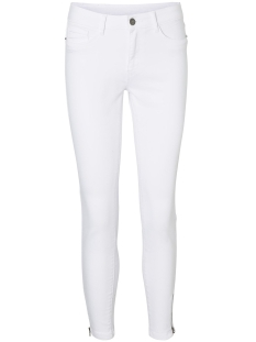 Vero Moda Broek VMSEVEN NW SS ZIP ANKLE WHITE VI609 10191261 Bright White
