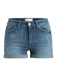 Pieces Korte broek PCFIVE DELLY B319  MW SHORTS MBLD 17080657 Medium Blue Denim