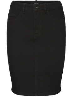 Vero Moda Rok VMHOT NINE HW DNM PENCIL SKIRT MIX NOOS 10193076 Black