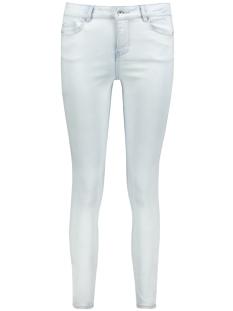Vero Moda Jeans VMSEVEN MR SLIM ANKLE BLEACH JEANS 10198027 Light Blue Denim