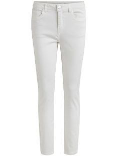 Vila Jeans VIAMY  RW 7/8 5P PANT 14044655 White Alyssum