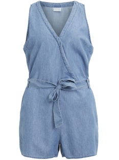 Vila Jumpsuit VILIAMA HW PLAYSUIT 14046523 Light Blue Denim