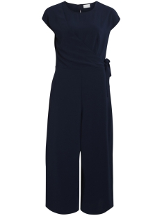 Vila Jumpsuit VIMELIS CROPPED WRAP JUMPSUIT 14046566 Total Eclipse