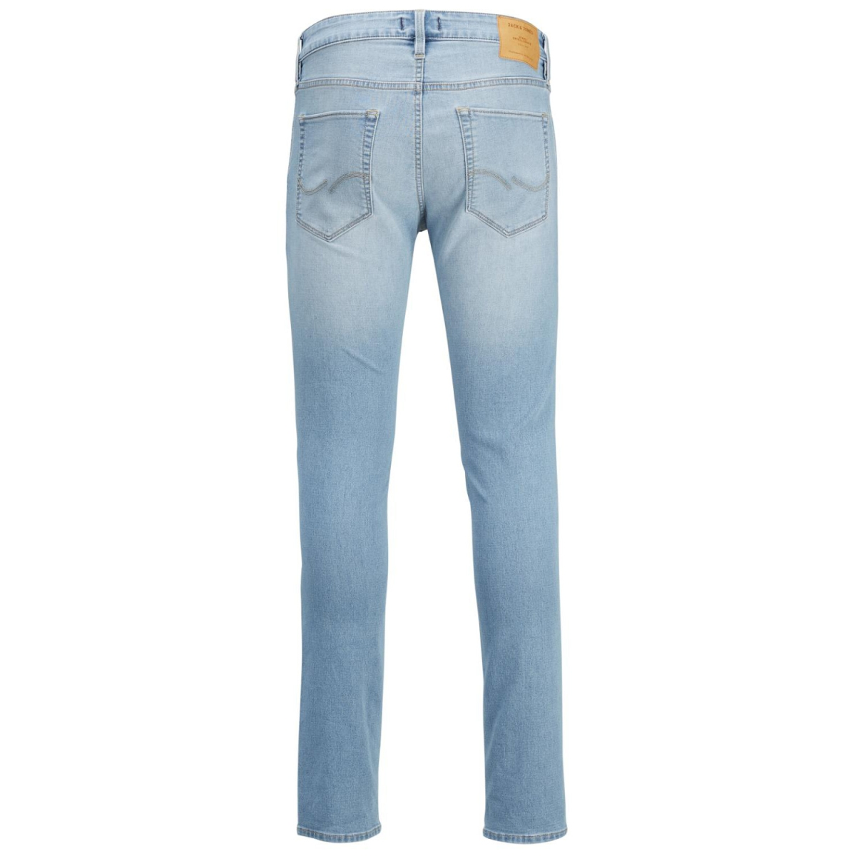 jjiglenn jjicon cr 045 indigo knit 12135754 jack & jones jeans blue denim